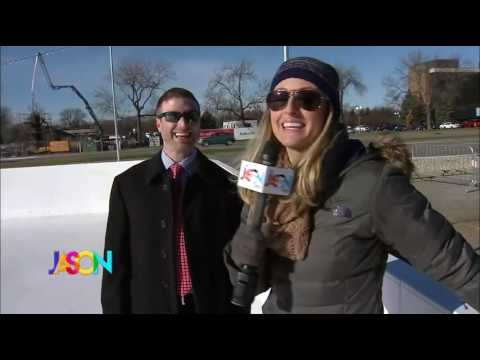 """The Jason Show"" features the outdoor ice rink at Southdale Center"