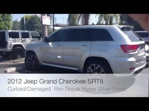 2012 Jeep Grand Cherokee Wheel Repair- Curbed Rim Globe Tire & Motorsport