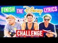 Finish The DISNEY Lyric Challenge! (ft Kian & JC)
