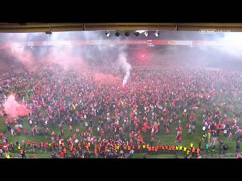 Incredible scenes as Union Berlin reach Bundesliga for first time ever!