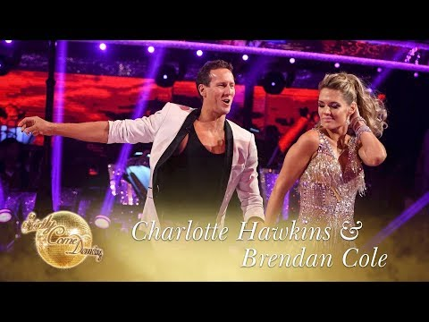 Charlotte Hawkins and Brendan Cole Cha Cha to 'Sugar' - Strictly Come Dancing 2017
