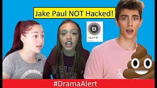 Jake Paul Team 10 ( NOT ) Hacked #DramaAlert BHAD BHABIE vs Woahhvicky! Chance Poopy Pants Story!
