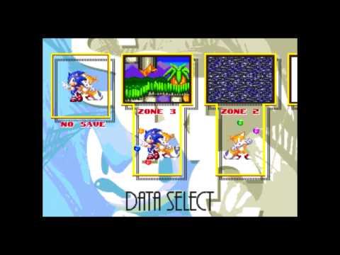 Sonic 3&K - Data Select (VGM Karaoke)