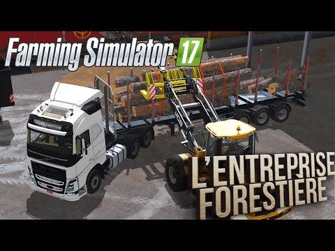 Farming Simulator 17 | L'Entreprise Forestière | Episode 9 | Chargement de bois !