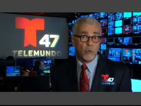 Miguel Perez on Telemundo47 2014
