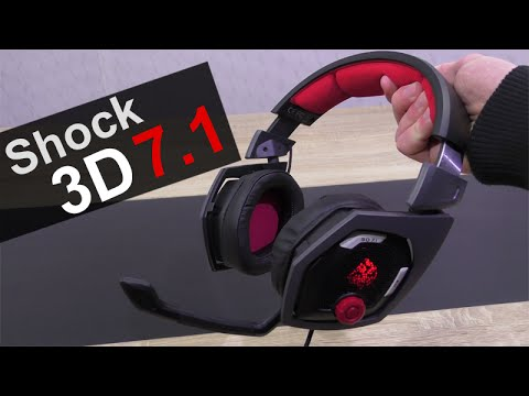 Thermaltake Tt eSPORTS Shock 3D 7 1 Gaming Headset Review