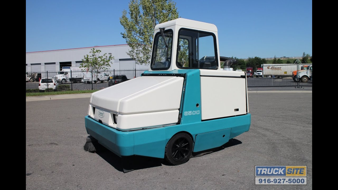 Diesels For Sale >> Tennant 6500 Industrial Propane Sweeper for sale by Truck ...