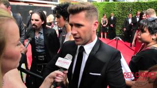 Travis Wall at the Creative Arts Emmy®Awards Red Carpet #67thEmmys #Emmys #CreativeArtsEmmys