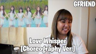 Video //REACTION// GFRIEND: Love Whisper [Choreography Ver.] download MP3, 3GP, MP4, WEBM, AVI, FLV September 2017