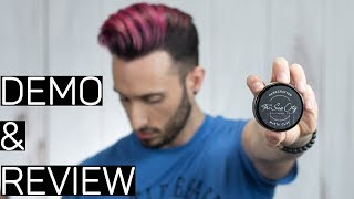 The Sun City Grooming Co. Matte Clay   NEW FORMULA   Demo & Review