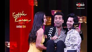 Koffee With Karan: Katrina Kaif and Varun Dhawan