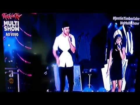 Rock in Rio 2013- Justin Timberlake- Dance and Shout- Michael Jackson