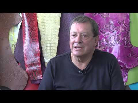 Mario Hernández, el insigne diseñador colombiano del cuero, sigue innovando