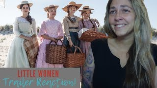 Little Women Official Trailer Reaction and Review