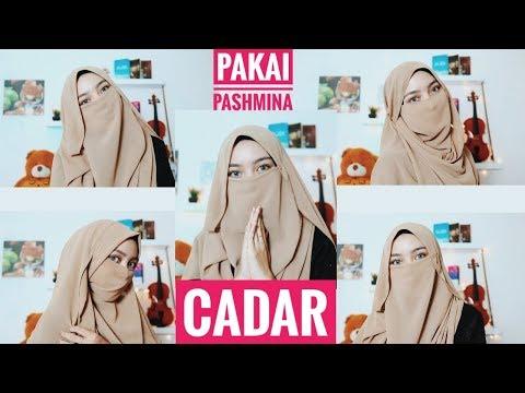 Hai Assalamualaikum... Kali ini aku share Tutorial Hijab dengan layer menggunakan dua hijab paris (segiempat) beda warna..