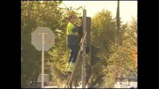 В Краснодаре идет установка новых светофоров