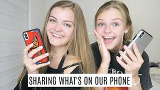 Sharing Our Most Recent Things On Our Phone ~ Jacy and Kacy