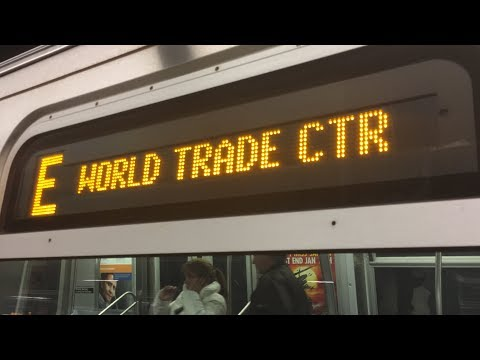 IND/IRT Subway: (A) (C) (E) (2) (3) Train action @ Chambers Street-Park Place-WTC