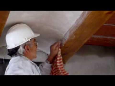 C mo enyesar un techo con revolt n de ladrillo v deo n 63 for Como encielar un techo