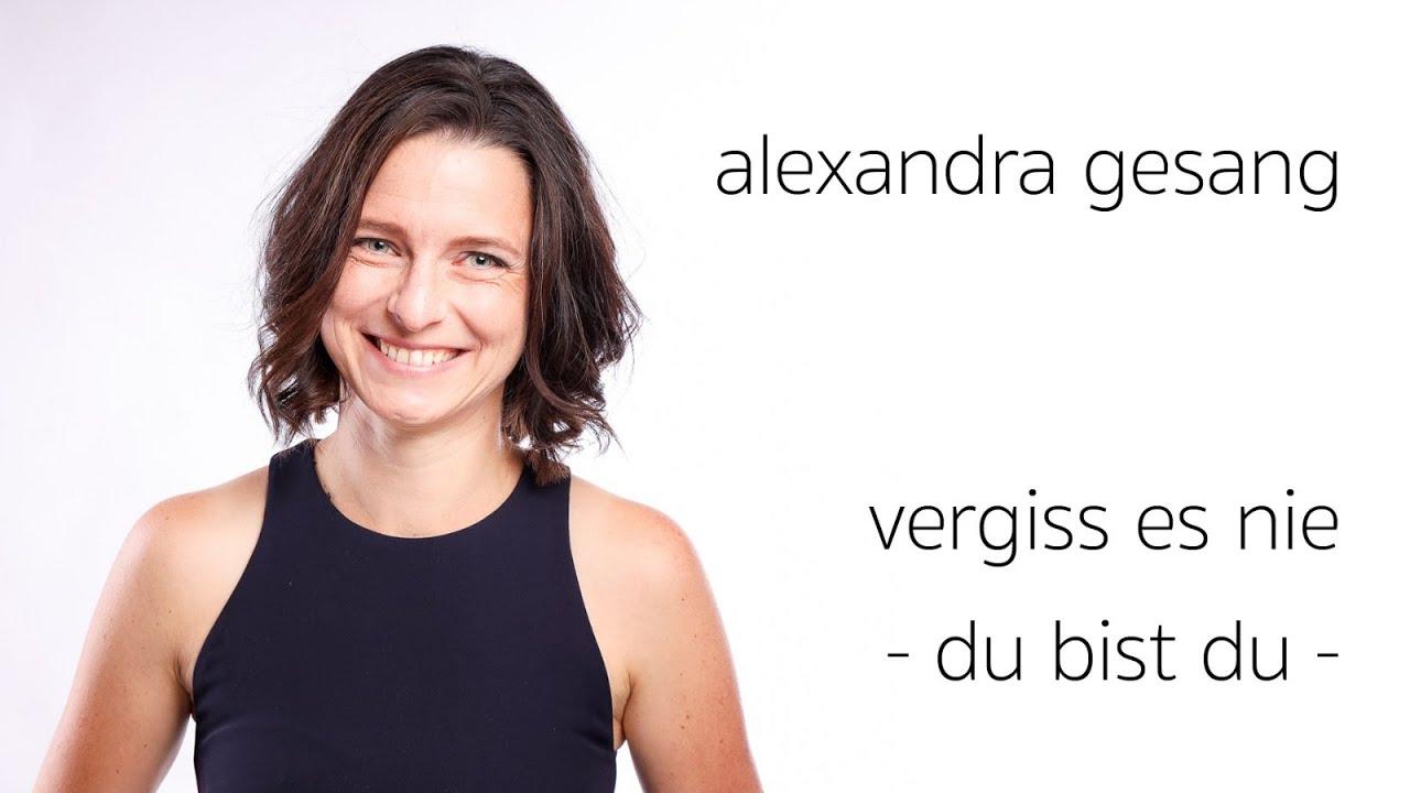 Vergiss es nie - du bist du - Taufe Hochzeitssängerin Alexandra - Jürgen Grothe