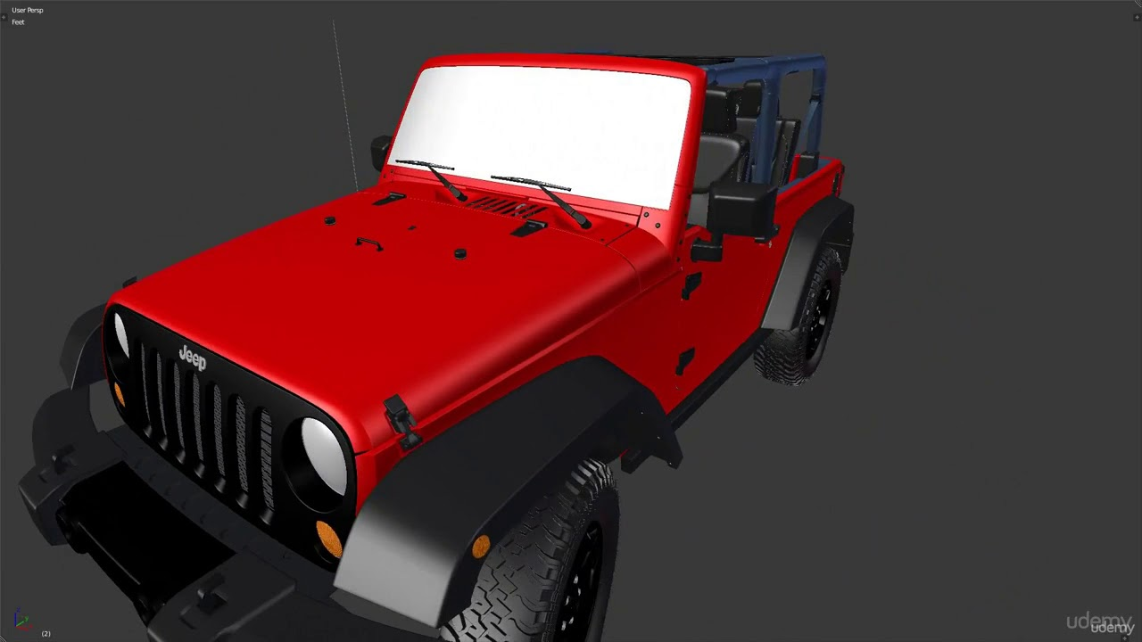 Complete Vehicle Production In Blender Introduction To The Course Youtube