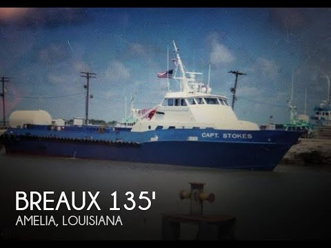 [UNAVAILABLE] Used 1991 Breaux 135 Crew Passenger Boat in Am