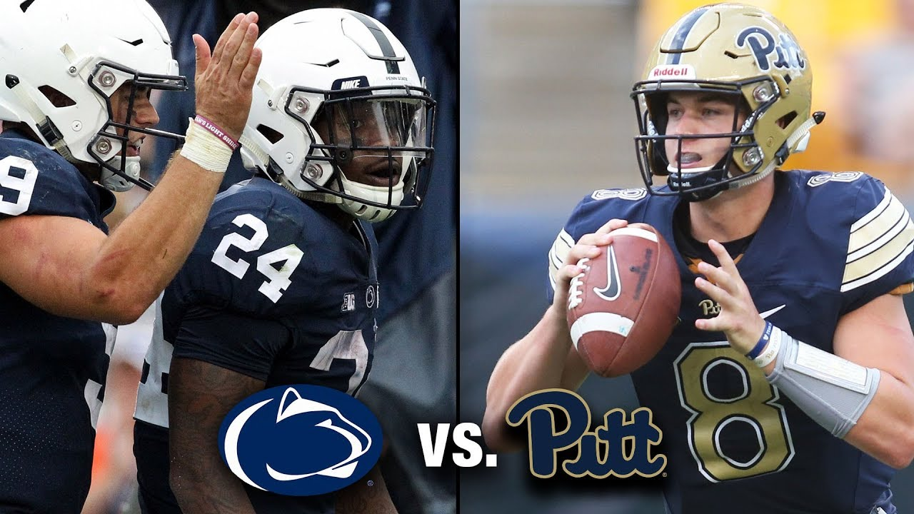 6df3af3a Penn State vs. Pitt Preview: A Keystone State Collision - YouTube
