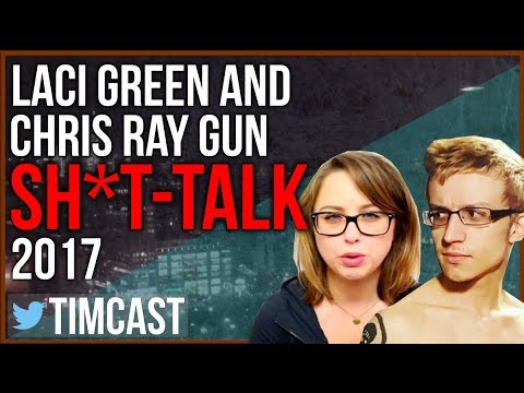 LACI GREEN AND CHRIS RAY GUN S*IT-TALK 2017