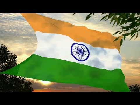 Flag and anthem of India