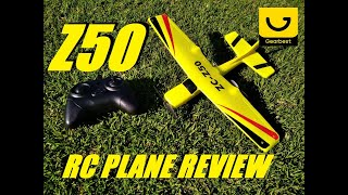 z50 EPP 2CH  6-axis Gyroscope RC Airplane Review