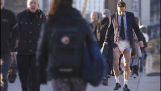Nappy-Wearing Man-Baby Seen on Streets of London