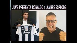 La Juve presenta  Cristiano Ronaldo e Lambrenedetto esplode !!!!
