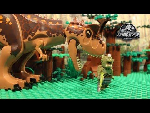 LEGO Cyclops - Jurassic World Fallen Kingdom - PART 1 - Stop Motion