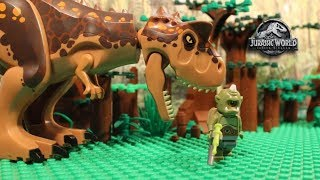LEGO Cyclops - Jurassic World Fallen Kingdom - PART 1 - Stop Motion