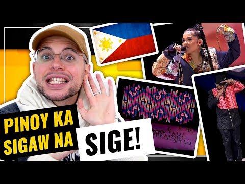 SEA Games 2019 Opening Ceremony | Individual Performances | FILIPINO! | HONEST REACTION