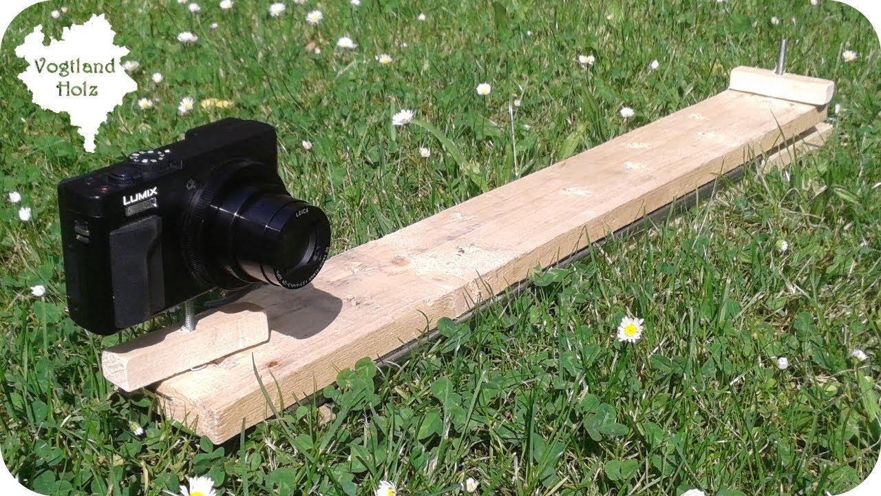 Kamera Slider selber bauen für 8€   DIY schnell und günstig   YouTube