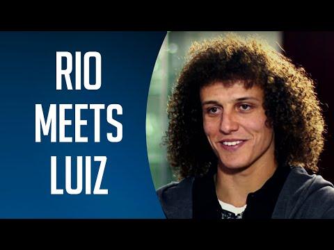 Rio Ferdinand meets David Luiz | BT Sport