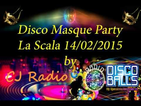 Disco Masque Party - La Scala 14/2/15 by CJ Radio & Radio Disco Balls !