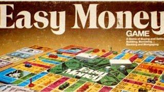 Ep 26: Easy Money Board Game  Review (Milton Bradley 1935)