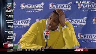 Dwight Howard Calls out Stan Van Gundy - Game 5 Press Conference - Jalen Rose Comments on ESPN
