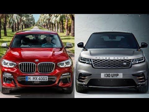 2019 BMW X4 vs 2018 Range Rover Velar Comparison - Dauer: 10 Minuten
