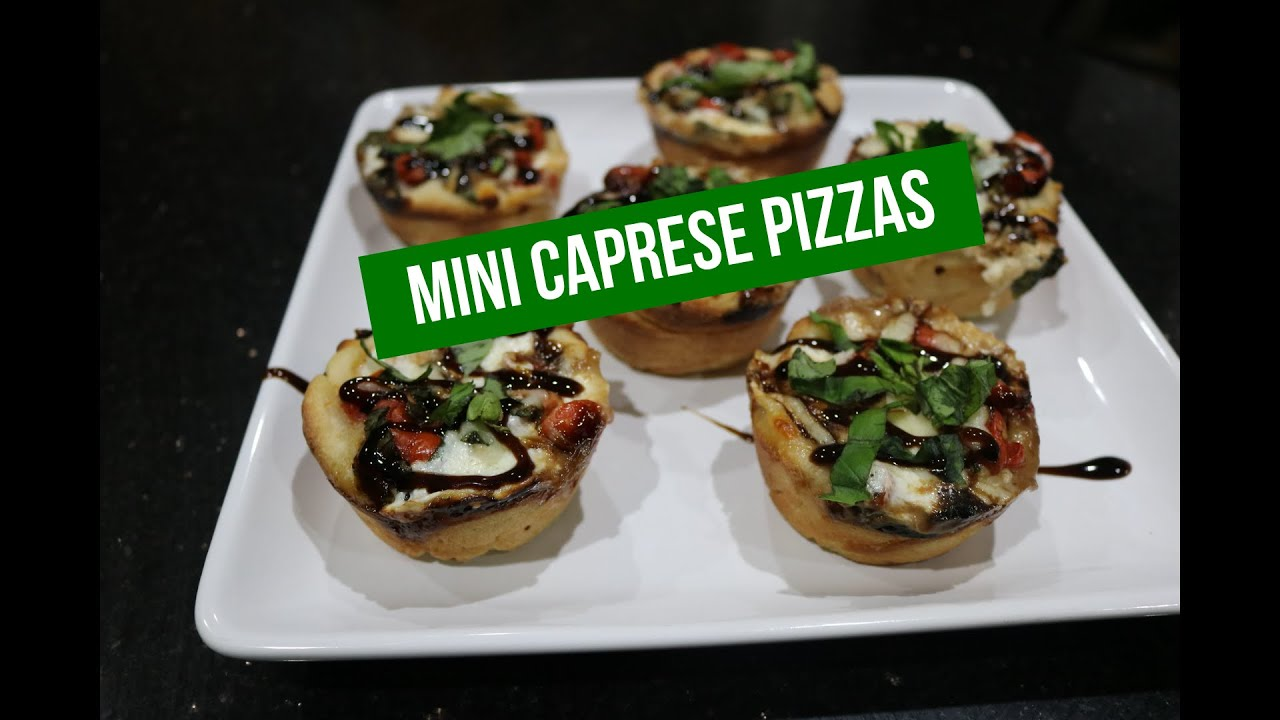 Mini Caprese Pizzas
