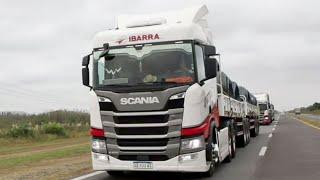 A fleet of heavy trucks for Argentina's Transporte Ibarra