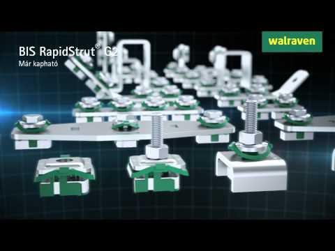 Walraven BIS RapidStrut G2 csatlakozók HU