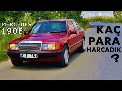 Mercedes 190E Yenileme Maliyeti   3. Bölüm