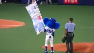 中日ドラゴンズ対読売ジャイアンツ オアシズ大久保佳代子さんによる始球...