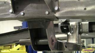 bolt in independent front suspension from speedway motors