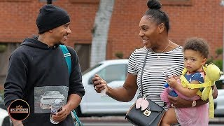 Serena Williams and Lewis Hamilton Bump into Each Other at LA Jewelry Store