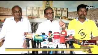 Pazha Nedumaran instructed Karunanidhi to ask forgive TN people for destroying 4 young generations.