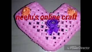How To Make Heart Shape accessories box or gift box